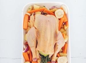 poulet rôti by marie gourmandiise